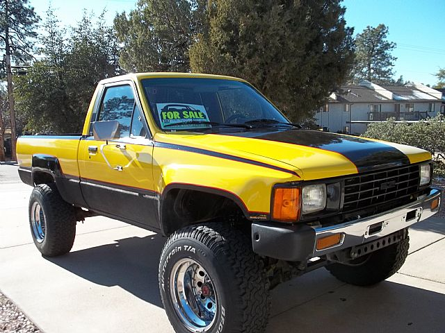 1986 Toyota Pickup 4x4 For Sale Payson Arizona