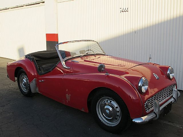 1963 Triumph TR3 for sale