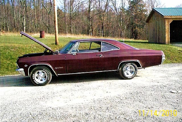 1965 chevrolet impala ss for sale rome pennsylvania. Black Bedroom Furniture Sets. Home Design Ideas