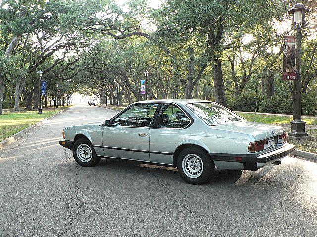 1983 Bmw 633csi For Sale Houston Texas