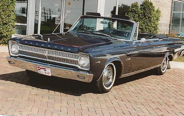 1965 Plymouth Belvedere for sale