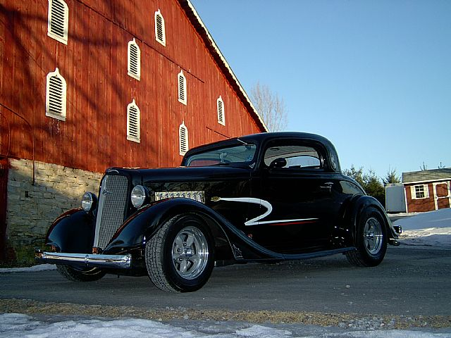 1935 Chevrolet 3 Window Coupe For Sale , Iowa