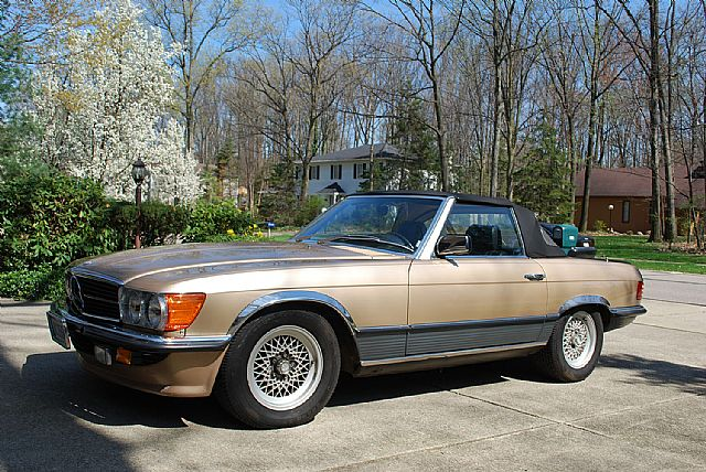 1982 Mercedes 500SL for sale