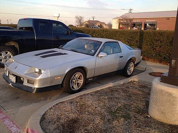 1986 Chevrolet Camaro for sale
