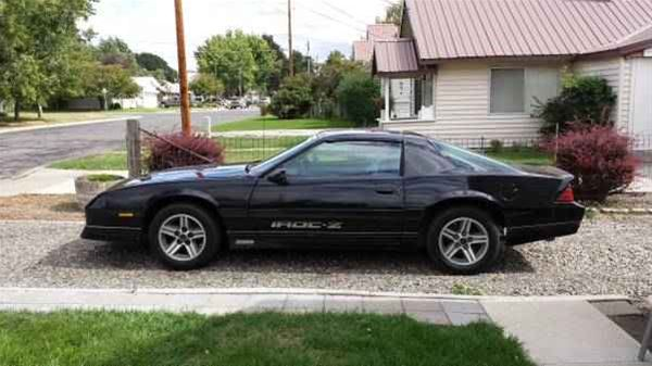 1985 chevrolet camaro z28 iroc for sale baker city oregon. Black Bedroom Furniture Sets. Home Design Ideas
