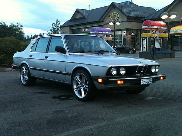 1986 BMW 528e for sale