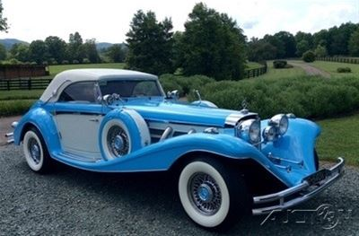 1936 mercedes 540k roadster replica for sale north garden for 1936 mercedes benz 540k replica