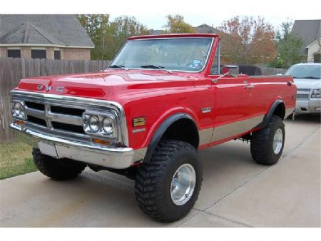 1970 GMC Jimmy for sale
