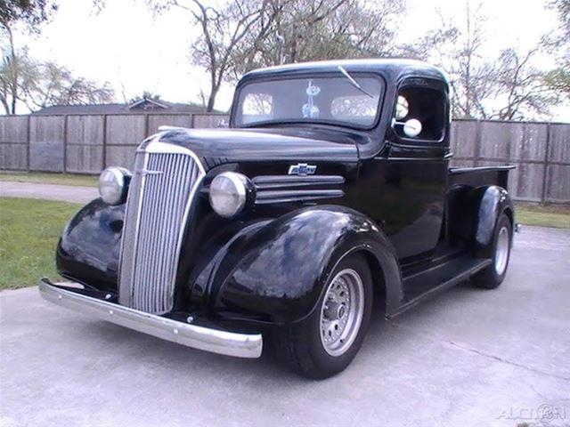 1937 chevy truck black autos post. Black Bedroom Furniture Sets. Home Design Ideas