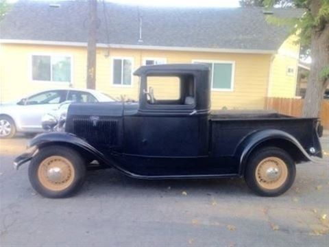 1934 Ford Short Bed