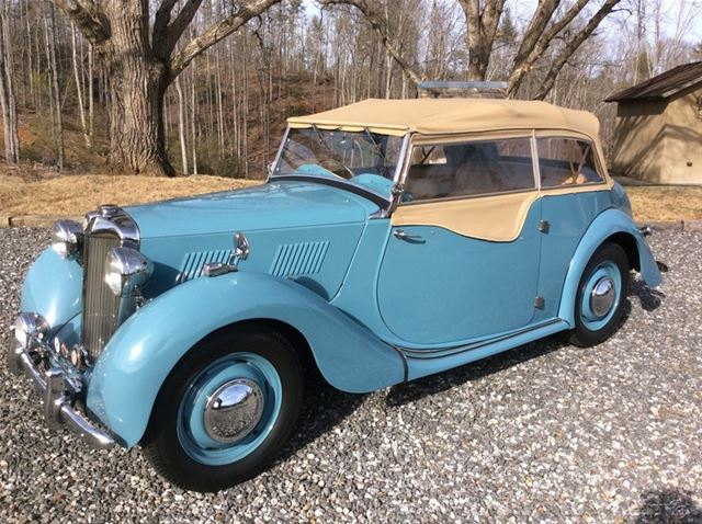 1950 MG YT for sale