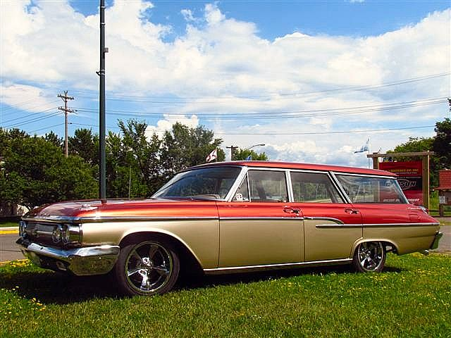 1962 Mercury Station Wagon for sale