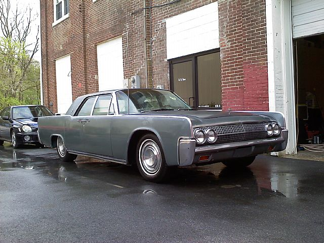 1963 Lincoln Continental for sale