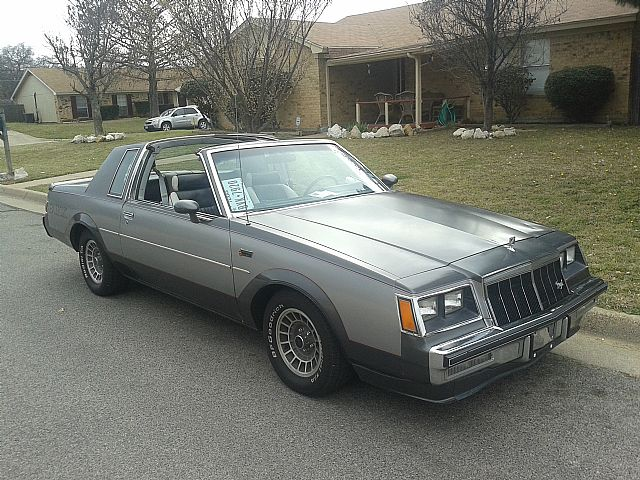 1982 Buick Grand National for sale