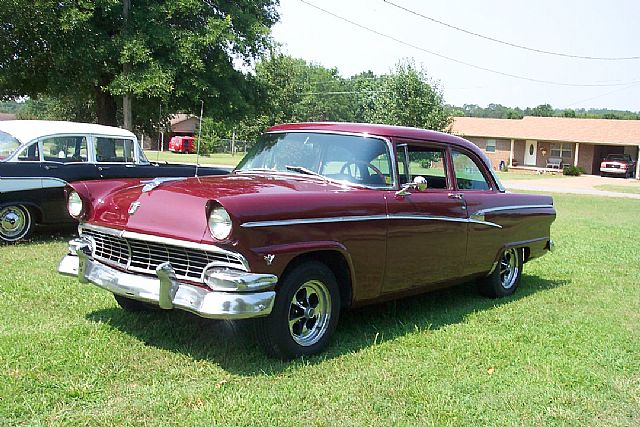 1956 ford customline for sale clinton arkansas for 1956 ford customline 2 door hardtop