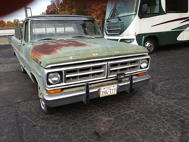 1971 Ford F100 for sale