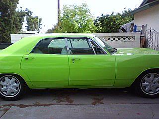 on Lime Green Dodge Dakota