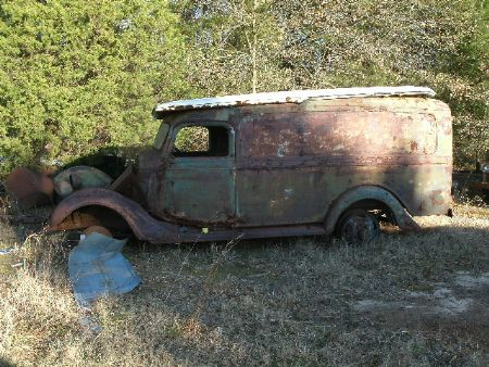 1937 Ford Panel Truck for sale