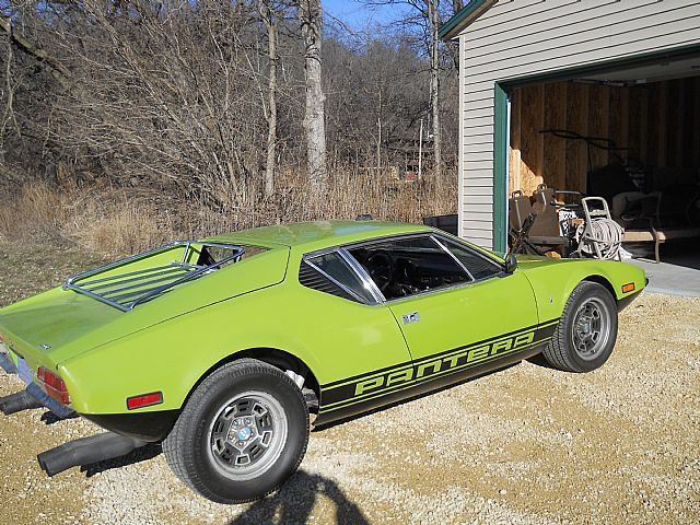 1972 DeTomaso Pantera for sale
