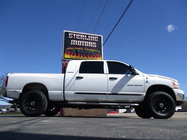 Ram 2500 Diesel For Sale >> 2006 Dodge Ram 2500 Mega Cab 4x4 Diesel For Sale Sterling