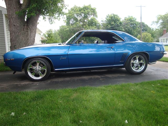 1969 chevrolet camaro for sale jackson michigan. Black Bedroom Furniture Sets. Home Design Ideas