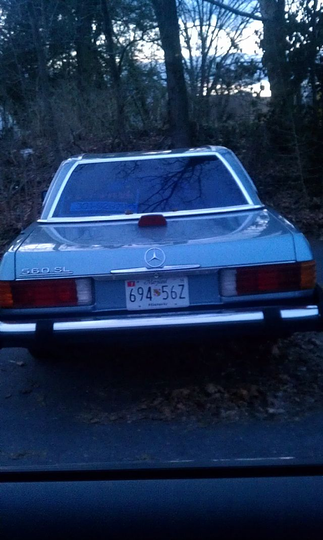 1986 Mercedes 560SL for sale