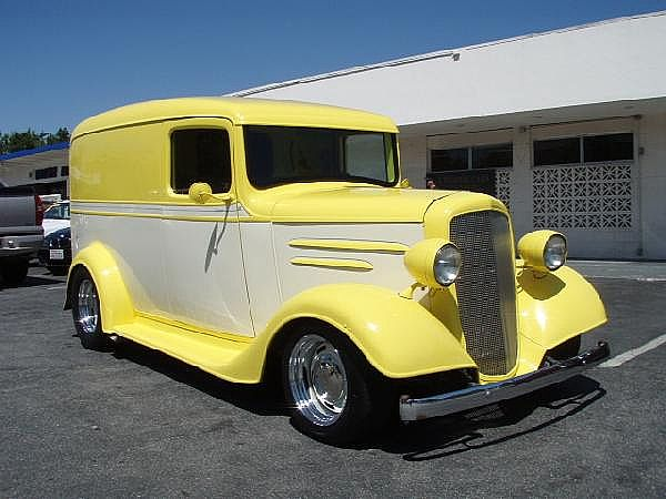 1936 Chevrolet Panel Truck for sale