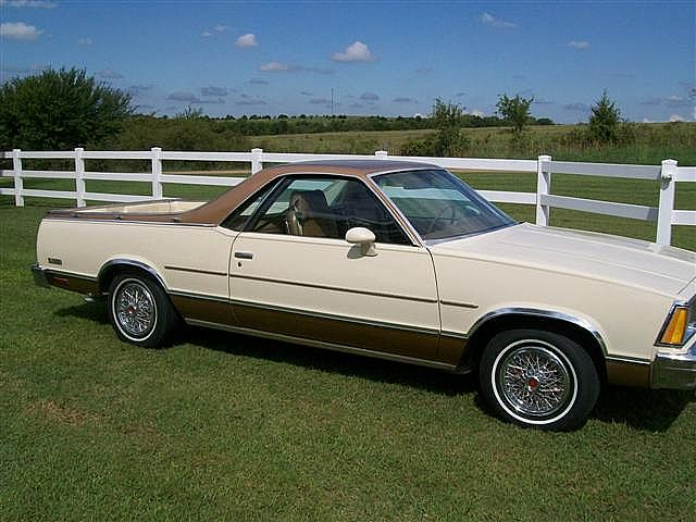1980 chevrolet el camino used cars for sale autos post. Black Bedroom Furniture Sets. Home Design Ideas