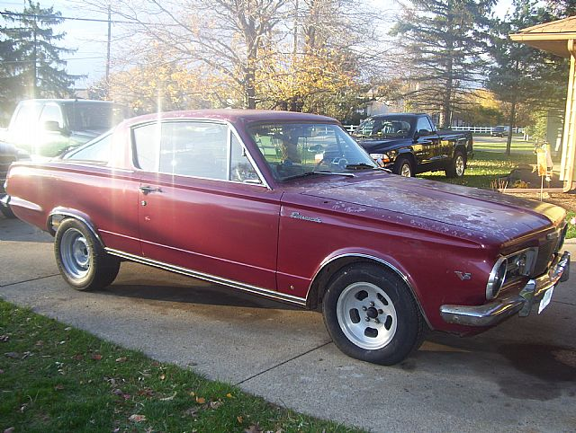 1965 Plymouth Barracuda for sale