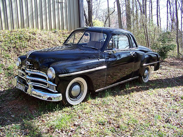 1950 Plymouth Business Coupe for sale