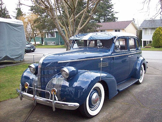 1939 Pontiac Chieftain for sale