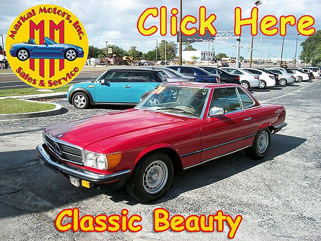 1978 Mercedes 280SL for sale