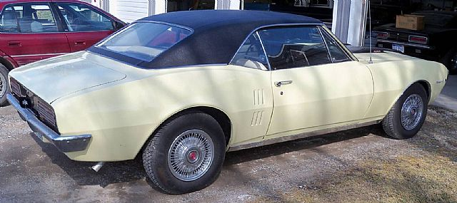 1967 Pontiac Firebird for sale