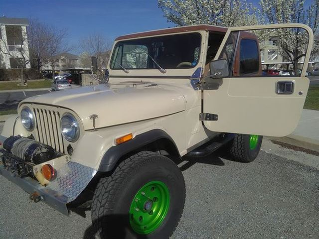 1984 jeep cj7 for sale south salt lake city utah. Black Bedroom Furniture Sets. Home Design Ideas