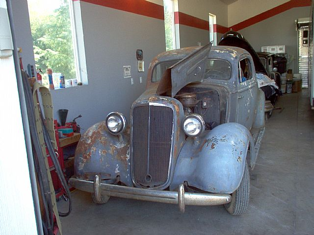 1935 Chevrolet Master Deluxe for sale