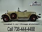 1927 Kissell Roadster