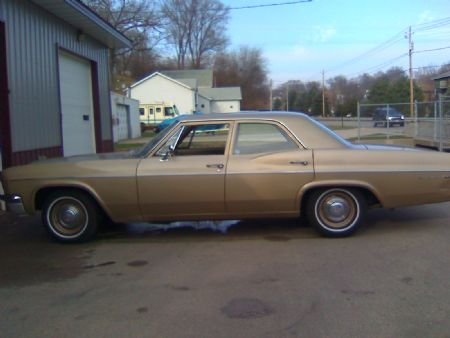 1966 Chevrolet Bel Air for sale