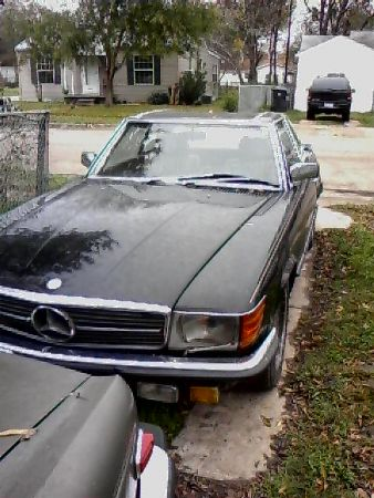 1984 Mercedes 500SL for sale