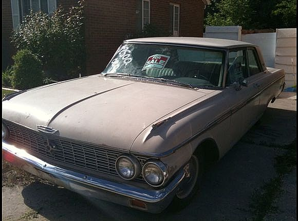 1962 1/2 Ford Galaxie for sale