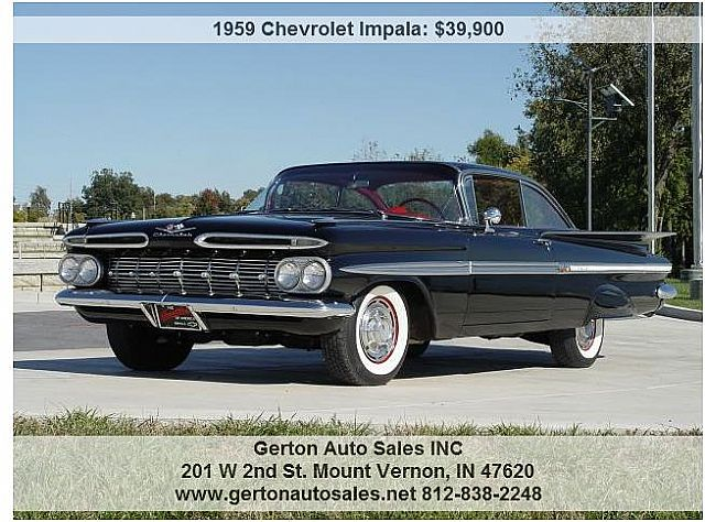 1959 Chevrolet Impala for sale