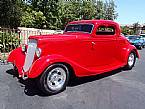 1934 Ford 2 Door Coupe