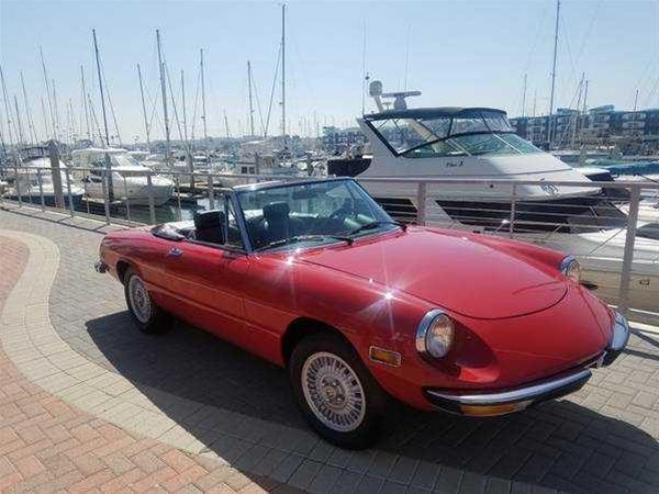 Alfa Romeo Spider Veloce For Sale Marina Del Rey California - 1979 alfa romeo spider for sale