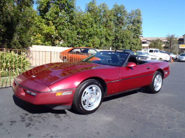 1990 chevrolet corvette for sale thousand oaks california. Cars Review. Best American Auto & Cars Review