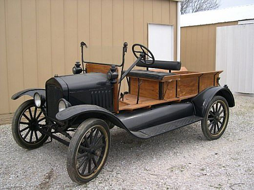 1924 Ford Huckster for sale