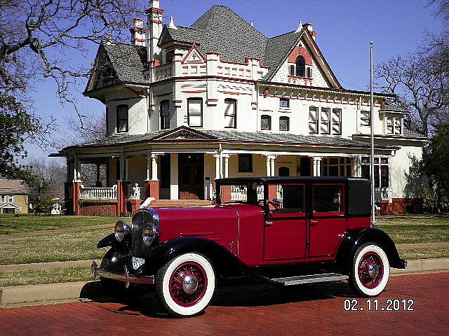1930 Franklin 4 Door for sale
