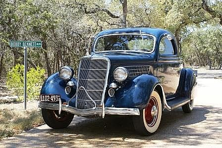 1935 Ford 3 Window Coupe for sale