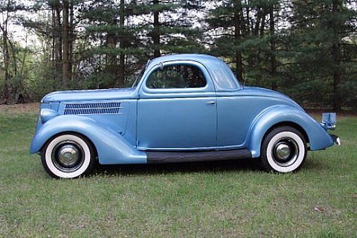 1936 Oldsmobile Coupe for Sale http://www.collectorcarads.com/Ford-3-Window-Coupe/37170