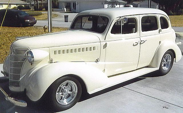1938 chevrolet 4 door for sale spring hill florida for 1938 chevrolet master deluxe 4 door for sale
