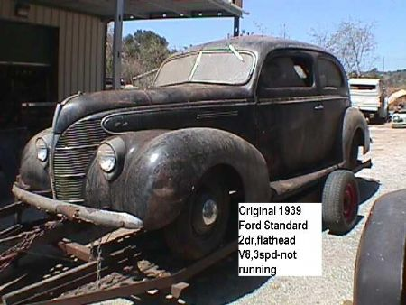 1939 Ford Standard for sale