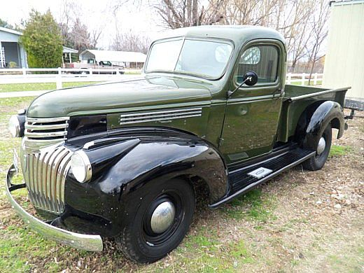 1946 Chevrolet Pickup For Sale Elkhart, Indiana